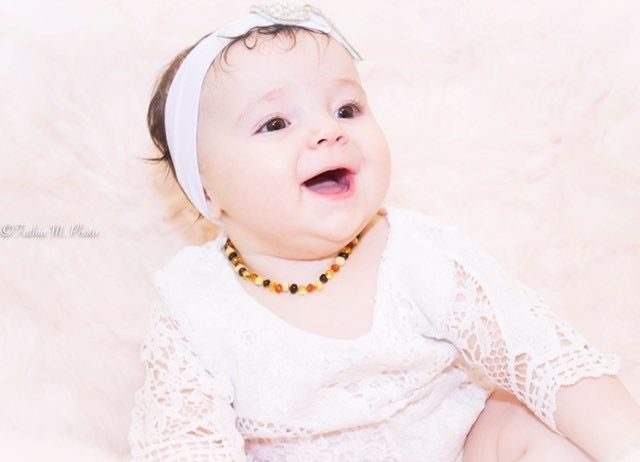 Our little adorable customer (@amelia_ava) ❤️ with GoAmber Jewelry ❤️   Need Teething & Drooling Relief? – Swiftly Stop the Symptoms >> www.GoAmber.com >>   #baby #pregnant #teethingbaby #amberteethingnecklace #amberteethinganklet #amberteethingbracelet #teethingsucks #teethingremedy #teethingbeads #drooling