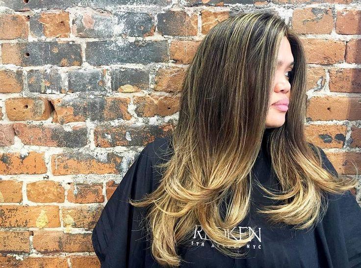 nice 50 примеров мелирования на черные волосы — короткие и длинные прически (Фото) Читай больше http://avrorra.com/melirovanie-na-chernye-volosy-foto/