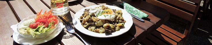 This popular fry-up from Tirol is a real hunger-stopper.