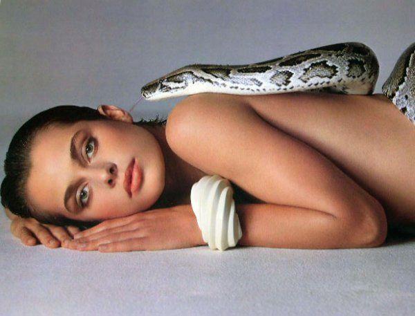 Nastassja Kinski and the Serpent, June 14, 1981  Photographed by Richard Avedon (1923-2004)