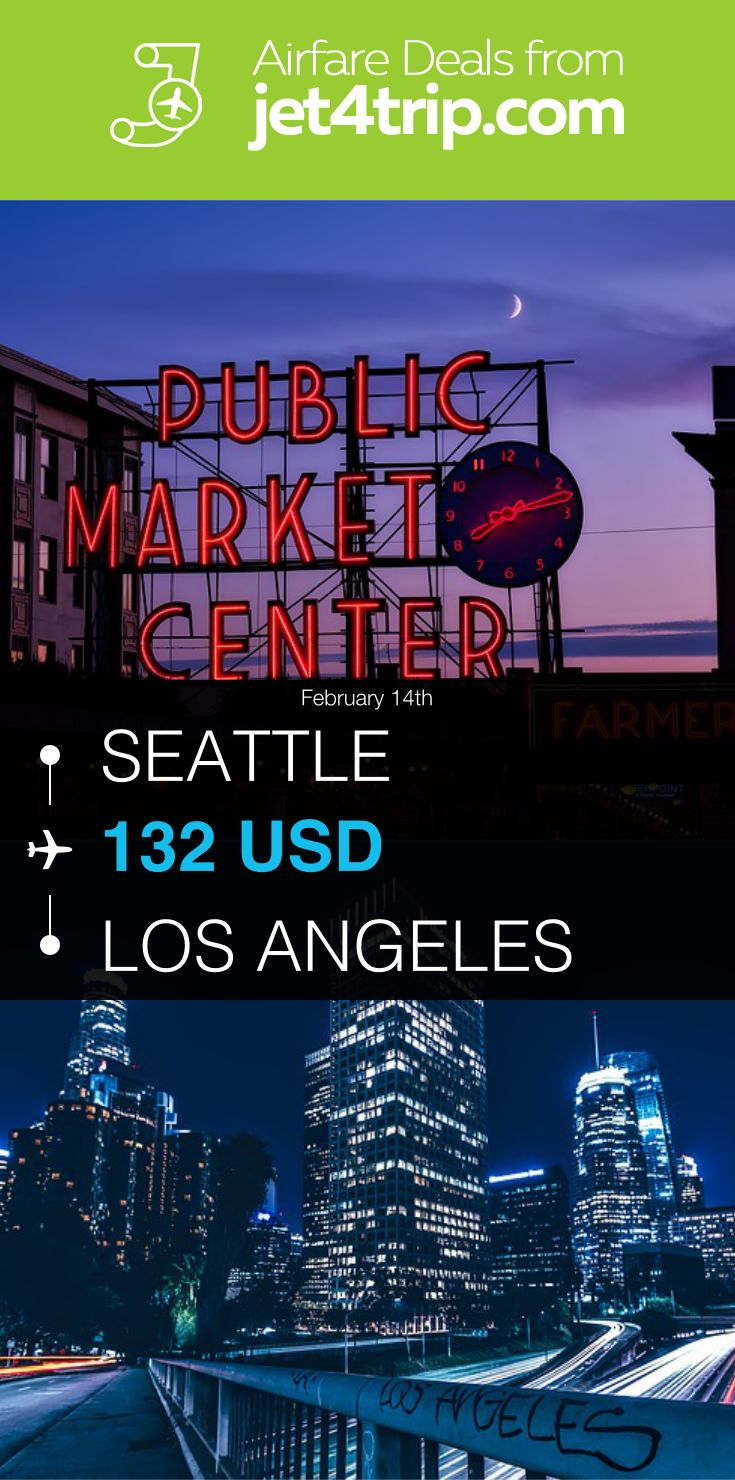 Flight from Seattle to Los Angeles for $132 by United Airlines #travel #ticket #deals #flight #SEA #LAX #Seattle #Los Angeles #UA #United Airlines