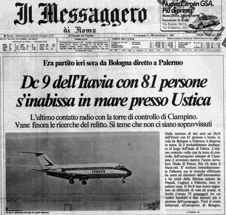 27 giugno 1980