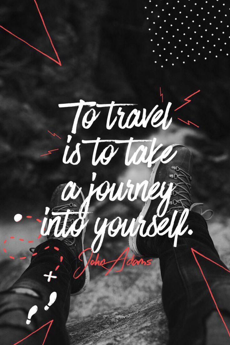 """To travel is to take a journey into yourself."" - John Adams   #madewithover"