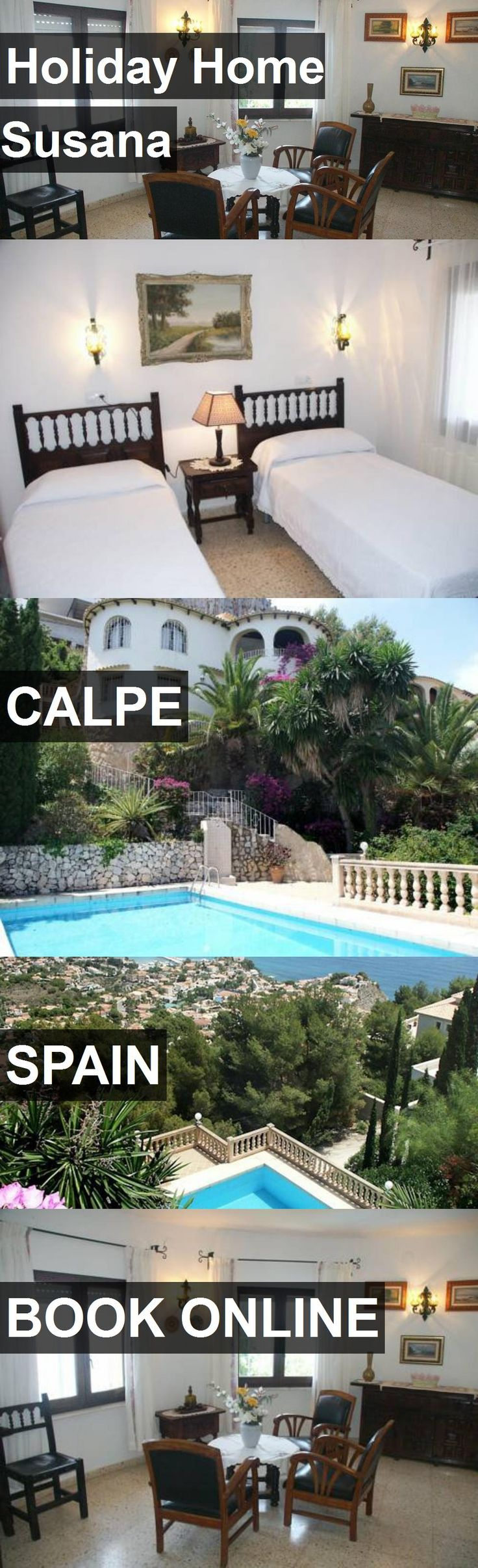 Hotel Holiday Home Susana in Calpe, Spain. For more information, photos, reviews and best prices please follow the link. #Spain #Calpe #travel #vacation #hotel