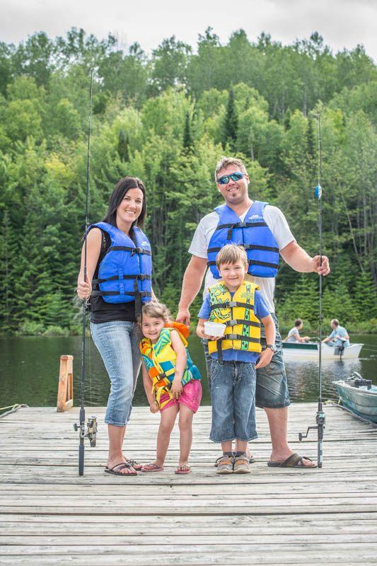 Vacances en famille // Family trip, Pourvoirie Pignon Rouge Mokocan, Lanaudière.