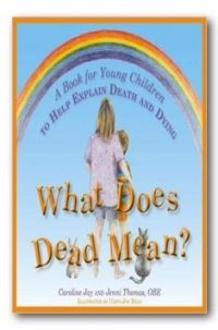 What Does Dead Mean? is a beautifully illustrated book that guides children gently through 17 of the 'big' questions they often ask about death and…