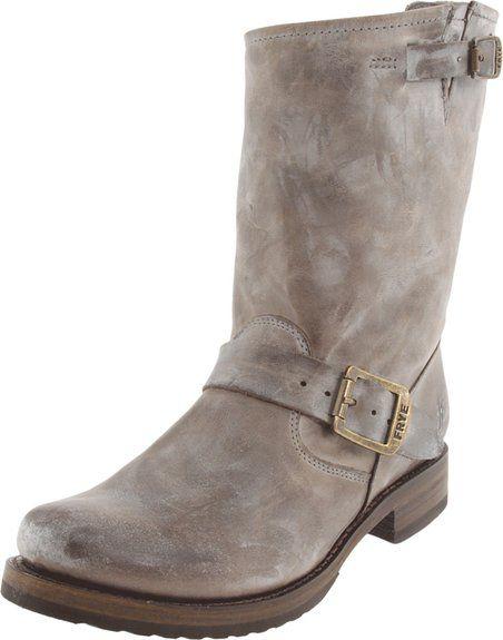 Frye Veronica Shortie Veronica Short - Botas para mujer, color gris, talla 36