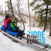 Ridge Runner Mountain Coaster/Luge at Blue Mountain, Collingwood, ON