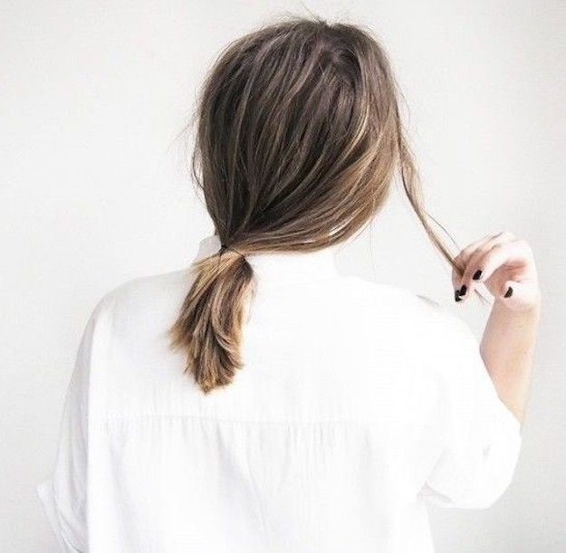 Low Pony | Stylish Back to School Hairstyles for Short Hair
