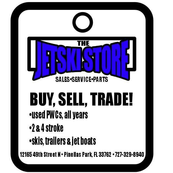 The Jet Ski Store, located in the Tampa Bay area, buys sells and trades jet skis. Call us for more info!