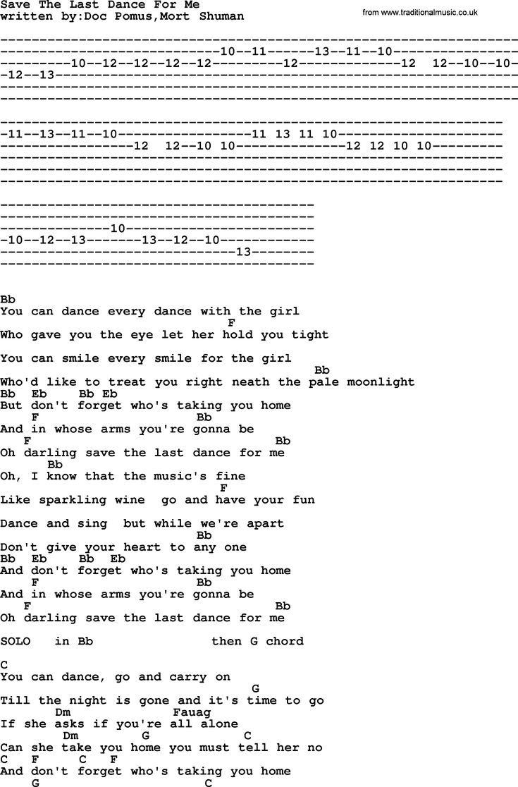 5440 best guitar images on pinterest music frankie and johnny emmylou harris song save the last dance for me lyrics and chords hexwebz Image collections