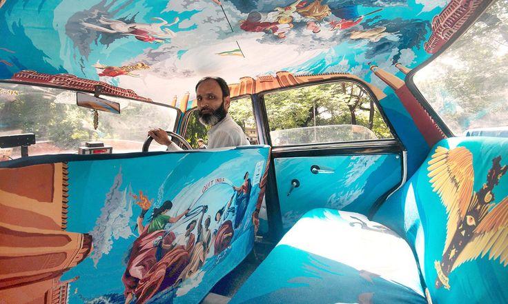 A seguito di una riuscitissima campagna di crowdfunding su Kickstarter, il team ideatore del progetto Taxi Fabric ha potuto riunire circa trenta designer indiani per impreziosire gli interni dei taxi di Mumbai con i loro disegni.