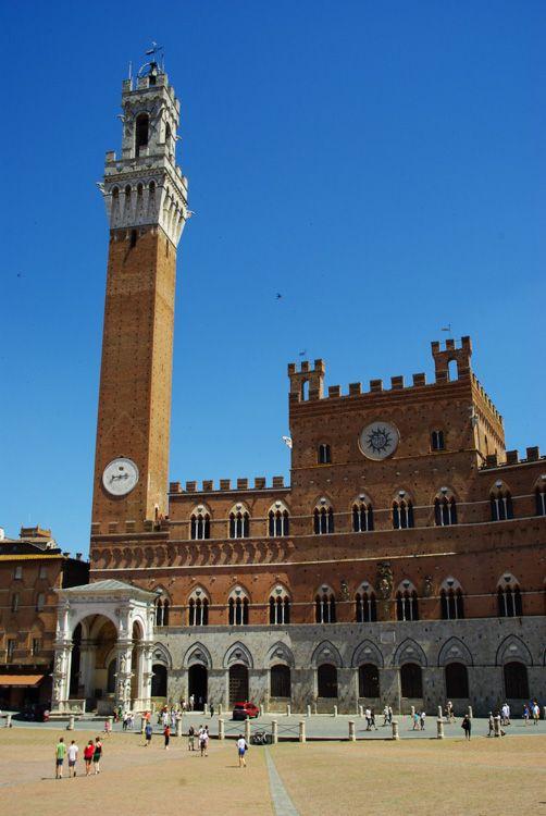 Le Palazzo Pubblico - Sienne