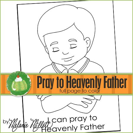 67 best primary images on pinterest | church ideas, lds primary ... - Lds Primary Coloring Pages Prayer