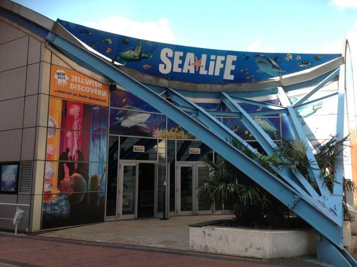 National Sea Life Centre, Birmingham, England