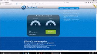 Getspeed - A New Tool To Test Internet Speed: Wireless Internet isn't working ? Check Speed of Y...