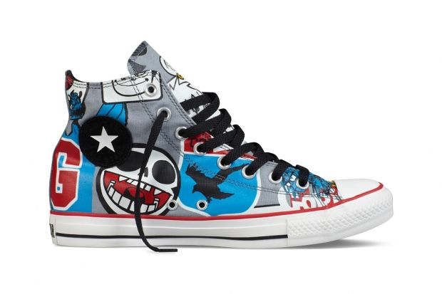 Gorillaz for Converse Chuck Taylor All Star Collection
