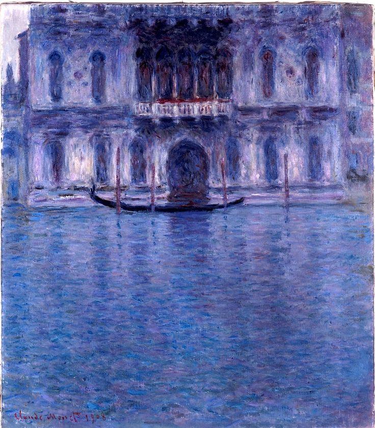 Claude Monet - Palazzo Contarini, Venedig, 1908