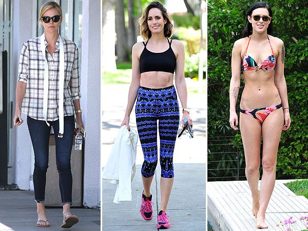 From Charlize Therons Boyfriend Button Down To Rumer Willis Sexy