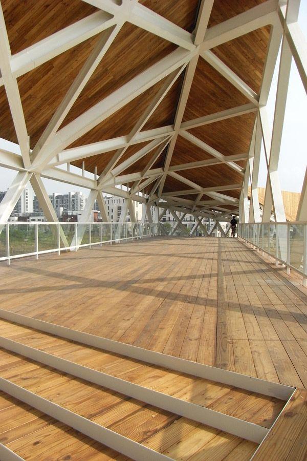 Puente peatonal Quingpu