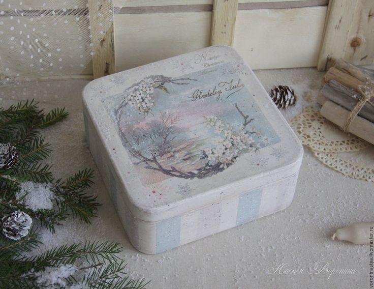 retro box nostalgic christmas