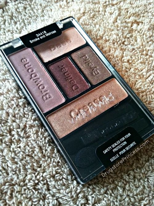 "The Drugstore Princess — Review + Swatches: Wet n Wild ""Smoke and Melrose"" Eyeshadow Palette"