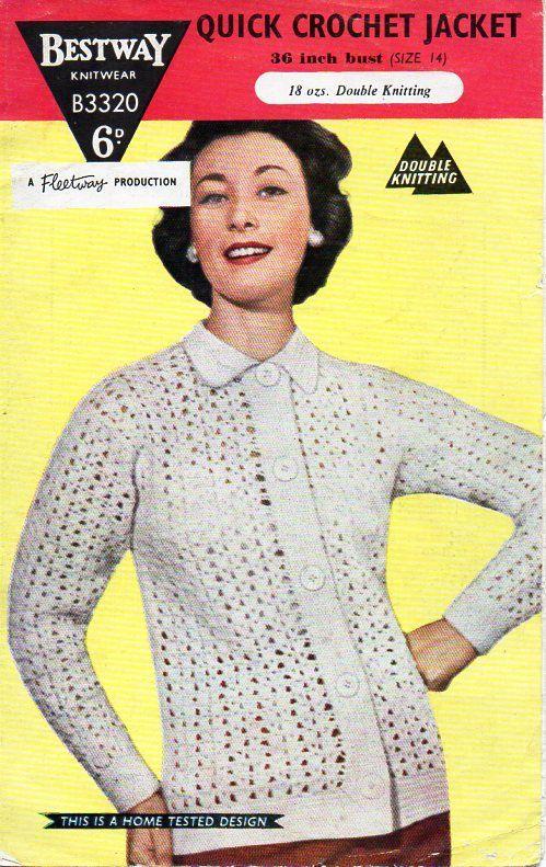 202 best Vintage Womens Crochet Patterns images on Pinterest