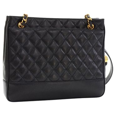 Chanel  Zwarte Tote tas