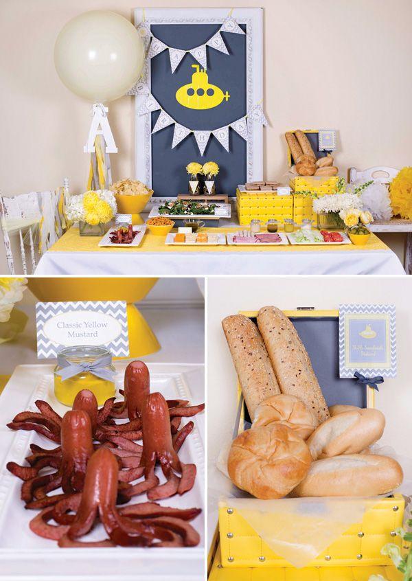 Classic Yellow Submarine Birthday Party