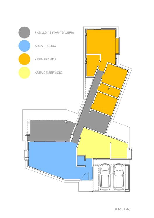 House in Cañuelas,Plan