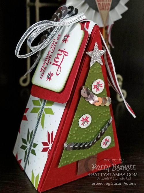 Christmas Cutie Pie Box and Tags