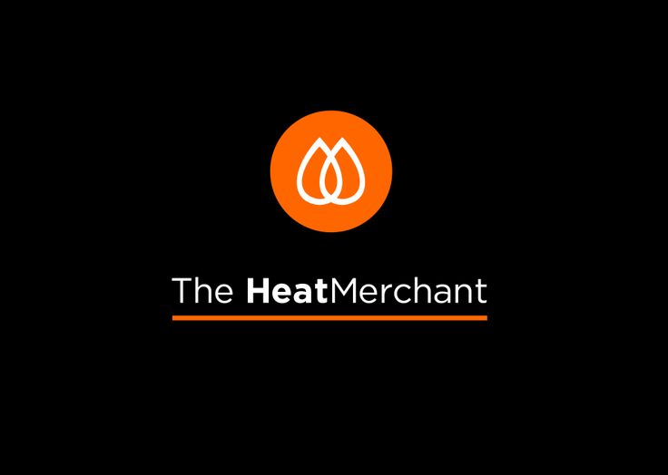 The Heat Merchant brand design by Free Thinking Design