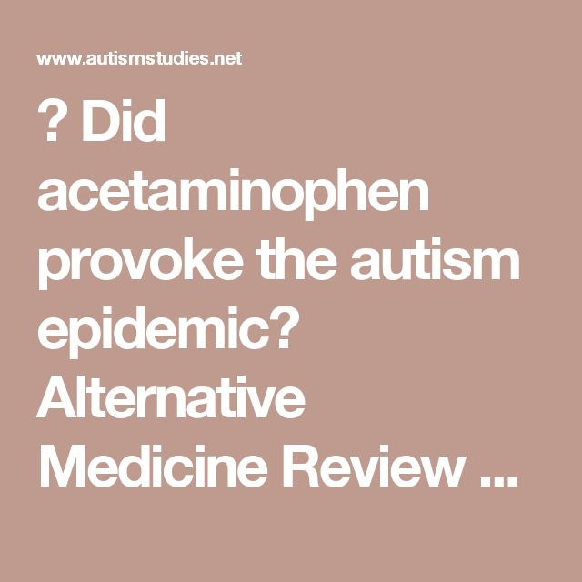 Did acetaminophen provoke the autism epidemic? Alternative Medicine Review 2009;13:364-372 (lightly edited for clarity)    ABSTRACT  Schultz et al (2008) raised the question whether regression into autism is triggered, not by the measles-mumps-rubella vaccine (MMR), but by acetaminophen (Tylenol) given for its fever and pain. Considerable evidence supports this contention, most notably the exponential rise in the incidence of autism since 1980, when acetaminophen began to…