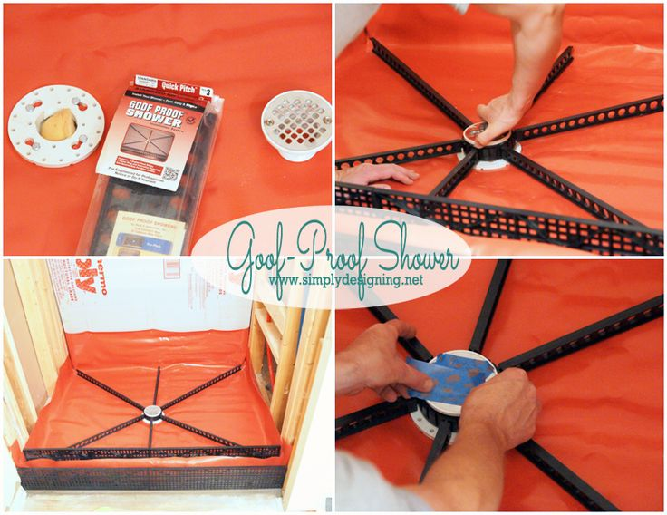 Goof-Proof Shower Pan Kit | How to create your own shower pan.