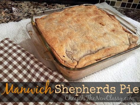 Looking for something different for dinner tonight? Manwich shepherds pie recipe