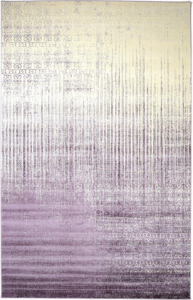 purple 10u0027 6 x 16u0027 5 modern tricolor rug area rugs