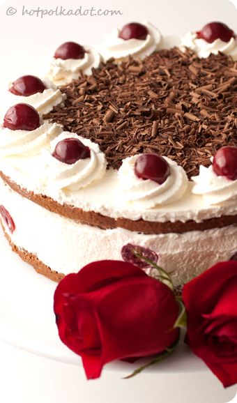 Swiss Pastry Black Forest Cake Recipe