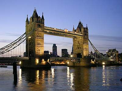 London, baby!
