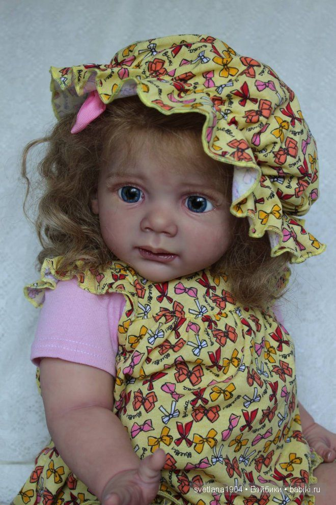 Евангелина Сен-Клер. Куклы реборн Светланы Преображенской / Куклы Реборн Беби - фото, изготовление своими руками. Reborn Baby doll - оцените мастерство / Бэйбики. Куклы фото. Одежда для кукол