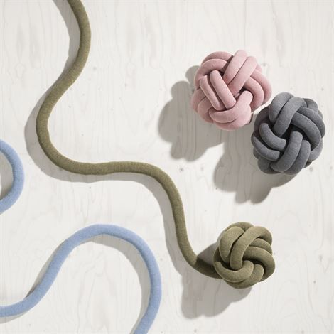 Knot pillow  Design House Stockholm