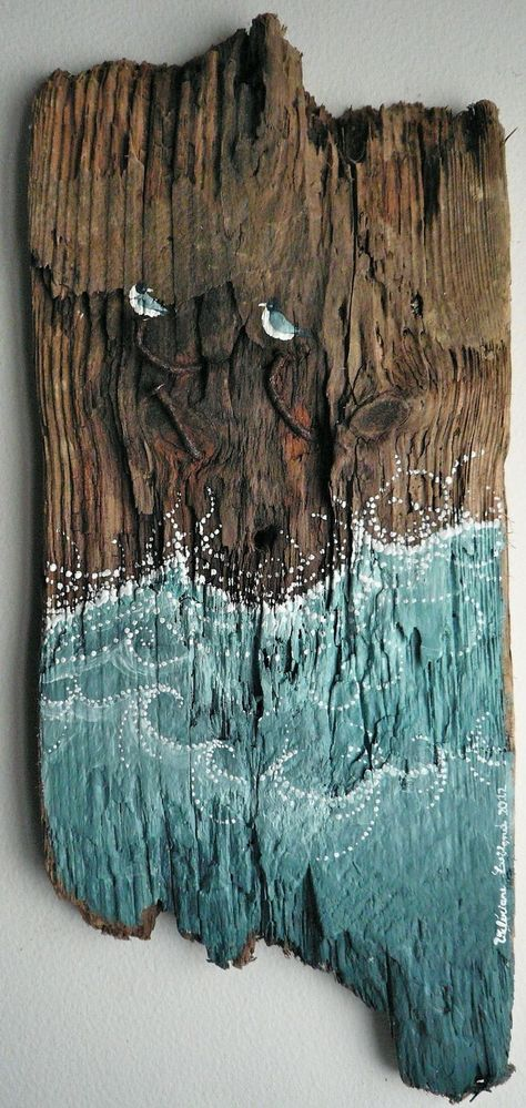 Beach house decoration.  Driftwood.  45 Delicate DIY Driftwood Crafts – Useful D…