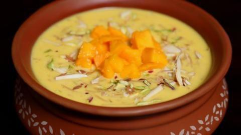 Delicious Mango Rice Kheer Recipe