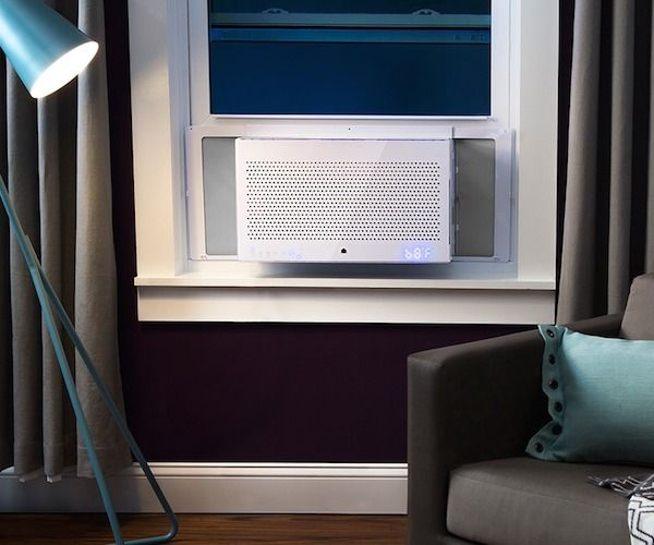 Aros Smart Window Air Conditioner / Do not go by its' luxurious looks, the Aros Smart window air conditioner is actually going to be of great use if you're on a tight budget. http://thegadgetflow.com/portfolio/aros-smart-window-air-conditioner/