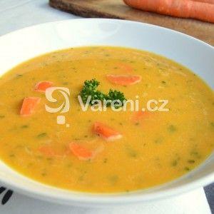 Fotografie receptu: Mrkvovo-čočková polévka se zázvorem