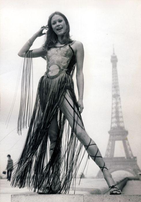 Paris, 1960s.  #vintage #fashion