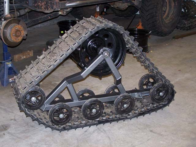 Homemade Off-Road Vehicles   tracked vehicle build up