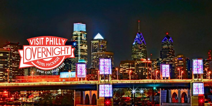 The philly overnight hotel package comes with two consecutive nights at participating hotels and free hotel parking