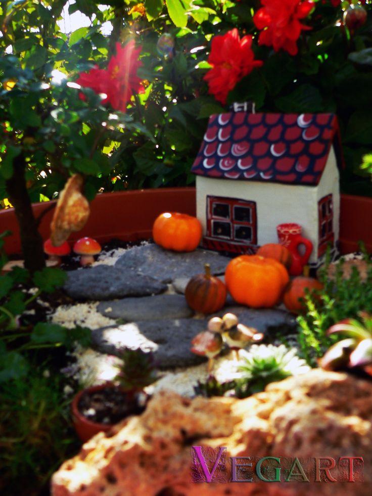 Fairy garden details www.vegart.ro