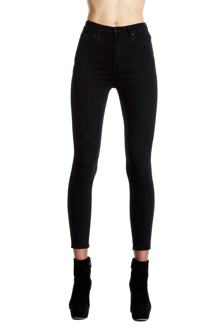 NEUW - Marilyn Skinny Black Silk