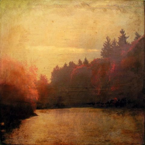 The landscapes between photography and painting by Dorothy Simpson Krause